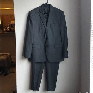 Lauren Ralph Lauren Full Gray Wool Suit
